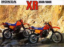 1984 Honda XR350r & XR500r Dirtbike 18 x 24 poster     XR350 XR 350 XR500 XR 500