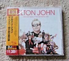 Elton John - Rocket Man Definitive Hits . RARE Japanese Super High Material CD