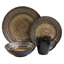 american atelier 16piece markham square dinnerware set - Stoneware Dishes