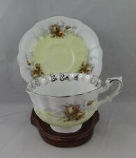 Royal Albert Bone China Tea Cup & Saucer-Rose Marie Series- Daybreak- England