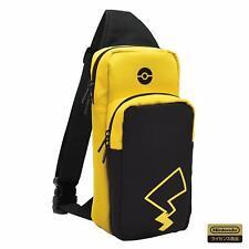 New Hori Nintendo Switch Pokemon Pocket Monster Pikachu Shoulder Pouch Bag Case