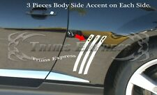 2010-2015 Chevy Camaro Vent Body Side Insert Cover Trim Molding Accent-6pcs