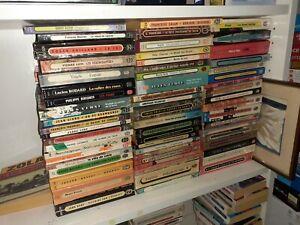 Lot de 110 livres de poches