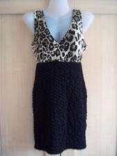 Animal Print Sleeveless Topshop Mini Dresses for Women