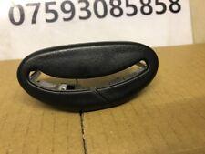 SAAB 9-3 CONVERTIBLE PASSENGERS REAR / LEFT HAND SEAT BELT TRIM 12931149  05-12