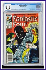 Fantastic Four #278 CGC Graded 8.5 Marvel May 1985 Newsstand Edition Comic Book.