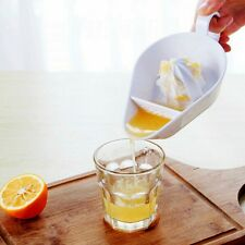 Manual Hand Citrus Press Juicer Orange Lemon Fruit Juice Maker Fliter Squeezer