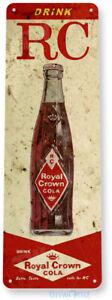 TIN SIGN Royal Crown Cola Soda Cola Drink Kitchen Rustic Metal Decor B586