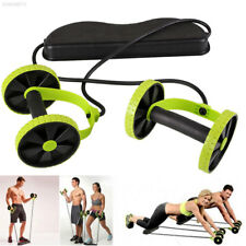Power Roll Ab Roller Wheel Training Abdominal And Full Body Gym Workout Exercise