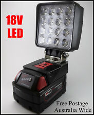 Milwaukee 18v LED Work Light  / Torch / Camping Light - Innovation Australia