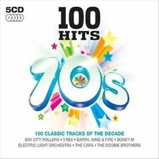 NEW - 100 Hits: 70's-Various Artists-CD,2007,5 Discs, Demon Records (UK)-SEALED