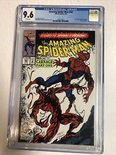Amazing Spiderman (1992) #361 (CGC 9.6 WP) | 1st Full Carnage (Cletus Kasady)