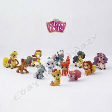 12pcs Game Disney Princess Palace Pets Set 2cm-4cm PVC Figure Loose