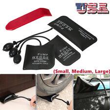 3Pcs Air Pump Wedge Inflatable Bag Shim Car Door Window Entry Opener Unlock N5N5