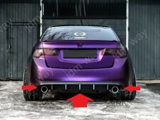 For Acura TSX CU Honda Accord 8 Rear Bumper Diffuser Cover Lip  2008-2013MY