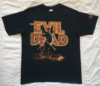 Evil Dead 2001 Shirt VTG Ash Army Of Darkness Movie Promo Sam Raimi Horror 666 L