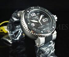 Invicta 52mm Grand Pro Diver BLACK & WHITE 1000 FEET Diver Silicone Strap Watch