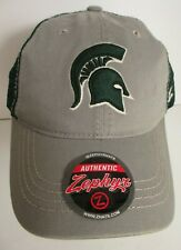 Michigan State Spartans Hat Cap Snapback Trucker Zephyr NCAA Embroidery New