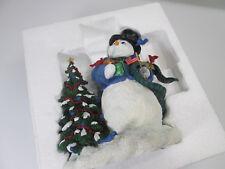 Prizm 2003 Pipka Memories of Christmas 'Felix, the Snowman'  Mint in Box COA