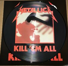 METALLICA, KILL 'EM ALL, Limited Edition 180G PICTURE DISC VINYL LP IMPORT New