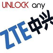 ZTE FACTORY UNLOCK CODE SERVICE ZTE  V788