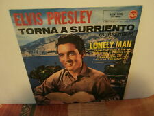 "elvis presley""torna a surriento""single7""or.italie.1961.rca:45n11.juke box rare"