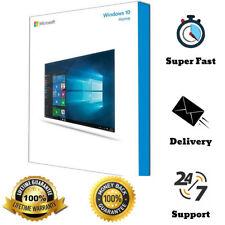 Windows 10 Home 32/64 Bit ESD Activation License Multilingual Download Link