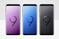 Samsung Galaxy S9 Verizon Smartphone Coral Blue Lilac Purple Midnight Black 64GB