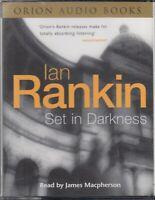 Set in Darkness Ian Rankin 4 Cassette Audio Book Rebus Crime Thriller FASTPOST