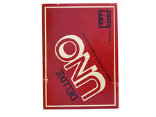 Vintage uno deluxe card game- 1983