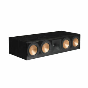 Klipsch RC-64 III Center Channel Speaker - Black Ash B-stock