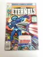 Eternals 11 VF/NM Bronze Age 1st Kingo Marvel Comics MCU