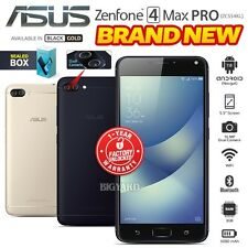 New Sealed Unlocked ASUS Zenfone 4 Max Pro ZC554KL Black Gold Android Smartphone