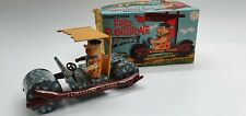 Tin Toy  Friction Fred Flintstone Flivver  with original box.