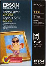Papier Epson Glossy Photo 10x15 50 feuilles 200g C13S042547