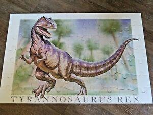 Glo-Bones 48 Pieces TYRANNOSAURUS REX T REX Dinosaur FLOOR PUZZLE - COMPLETE