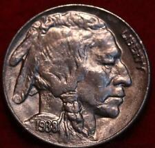 Uncirculated 1938-D Denver Mint Buffalo Nickel
