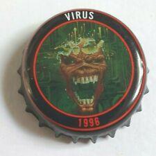 IRON MAIDEN Beer bottle cap ROBINSONS brewery TROOPER ale top VIRUS