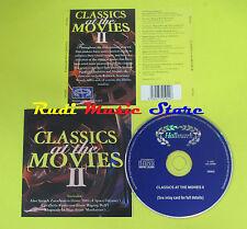 CD CLASSICS AT THE MOVIES 2 compilation 97 CAVALLERIA RUSTICANA ZARATHUSTRA (C4)