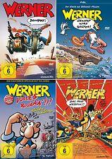 Werner Beinhart Part 1 2 3 4 Gekotzt Volles rooäää Tanks 4 DVD Sammlung NEW