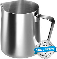 US Stainless Steel Milk Craft Coffee Latte Frothing Art Jug Pitcher Mug Cup Tool