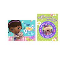 Doc McStuffins Birthday Party Invitations and Thank You Notes Cards Combo 8 pk