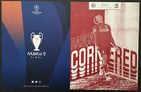 2019 CHAMPIONS LEAGUE SEMI FINAL MOMENTS CARD LIVERPOOL V BARCELONA 4-0