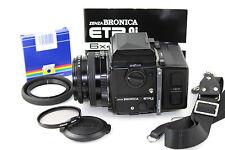 ZENZA BRONICA ETRSi Classic Film Camera. ZENZANON-PE 1:2.8 F=75mm Standard Lens.