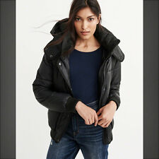 NWT Abercrombie & Fitch By Hollister Womens Winter Puffer Jacket Outerwear XS-M