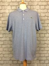 LACOSTE SPORT MENS UK XL SIZE 6 PALE BLUE POLO SHIRT TSHIRT T-SHIRT TEE CASUAL