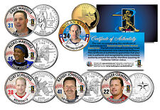 Baseball STRIKEOUT KINGS State Quarters US 6-Coin Set Nolan Ryan Pedro Martinez