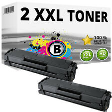 2x XL TONER PATRONEN für Samsung ML-2160 ML-2165W SCX-3400F SCX-3405FW SCX-3405W