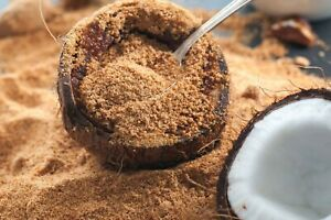 Organic Coconut Sugar Premium Raw Coconut Palm Sugar by Everyday Superfood