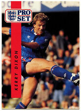 Kerry Dixon Chelsea #37 Pro Set FOOTBALL 1990-1 TRADE card (c363)
